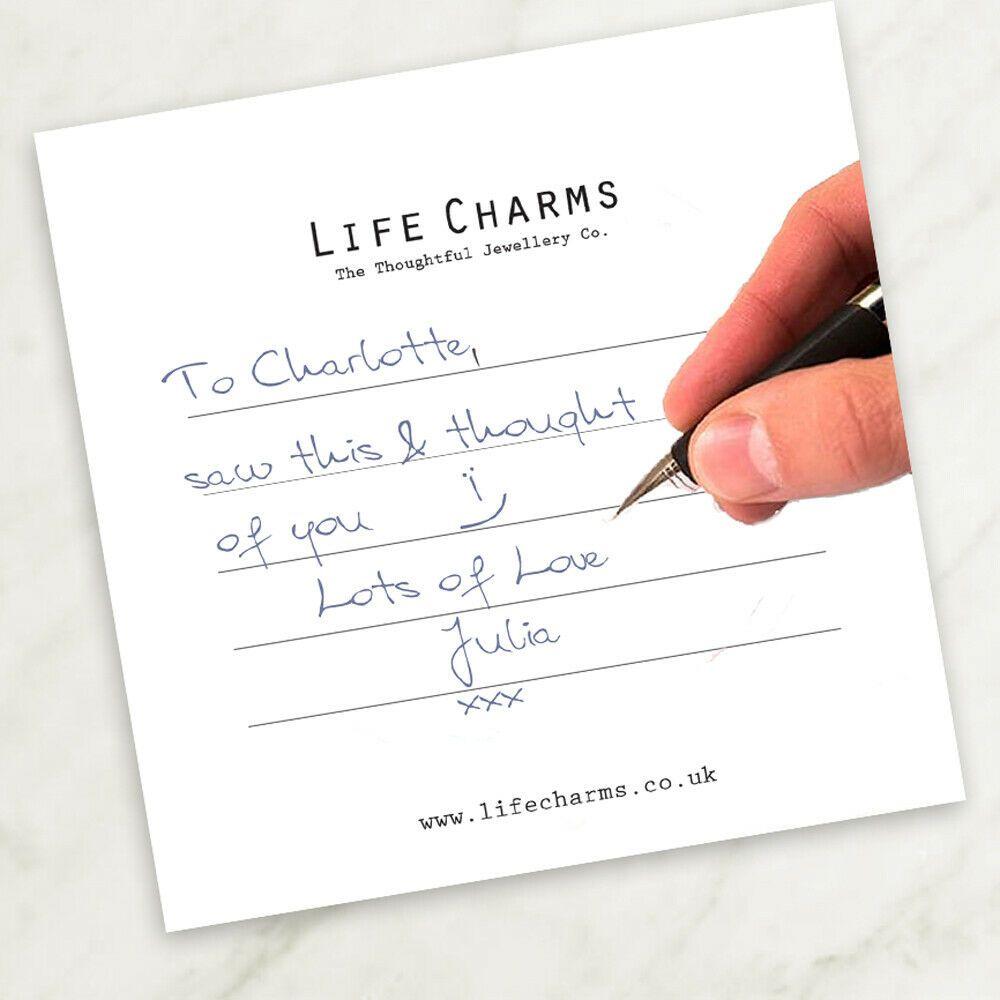 """Encantos pulsera de la vida /""""eres una maravillosa Nan X/"""" bellamente en caja de regalo"""